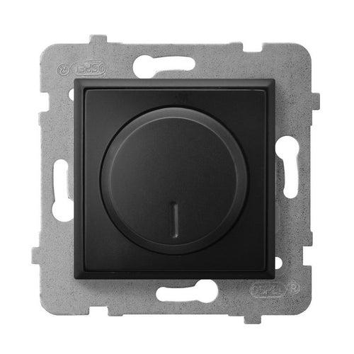 Ospel Aria czarny metalik ściemniacz LED, halogen