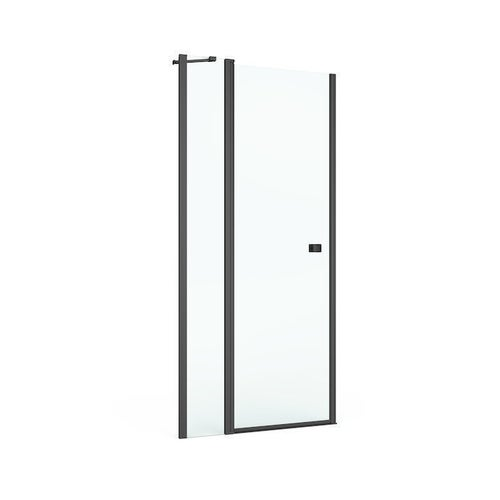 Drzwi prysznicowe Roca Capital Black 100x195 cm AM4610016M
