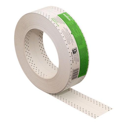 Taśma do połączeń i narożników wewnętrznych płyt g-k SMH-MEDIUM zielona 10 mb