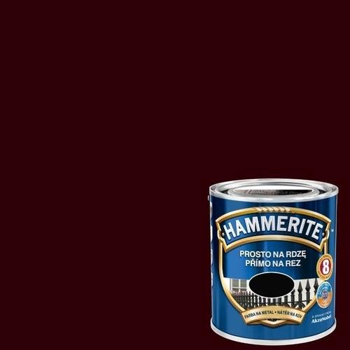 Farba antykorozyja Hammerite ciemny brąz połysk 0,7l