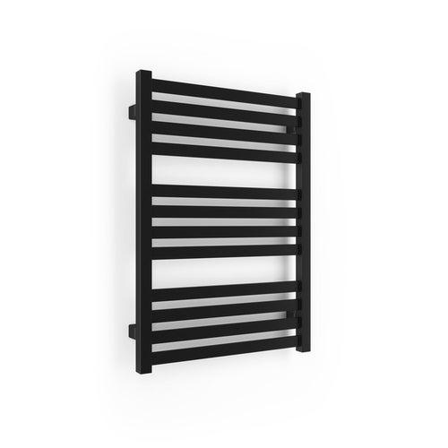 Grzejnik łazienkowy Rytm 71x50 cm, czarny matowy