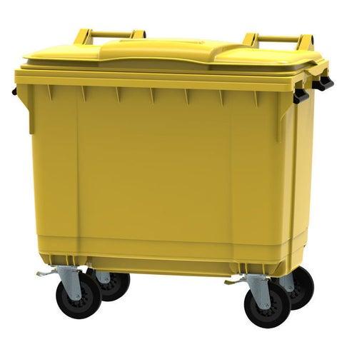 Pojemnik MGB 660 l żółty
