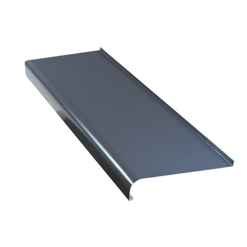 Parapet zewnętrzny stalowy grafit 25x150cm