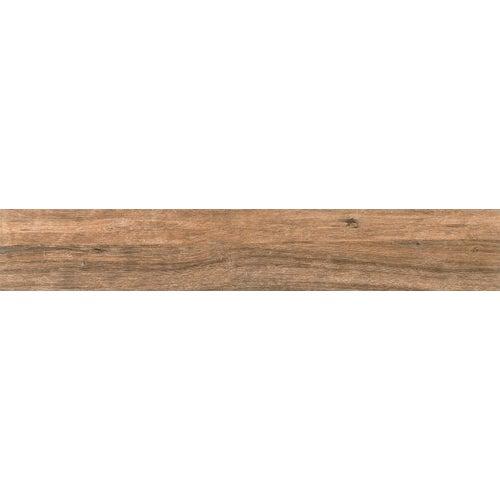 Gres szkliwiony Aldea Brown 149.8x23 cm 1.73m2