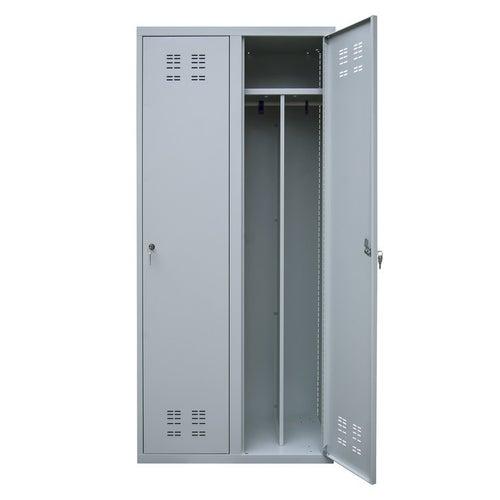 Szafa ubraniowa dwudrzwiowa MSU-ECO/MTD 1800x800x490 mm