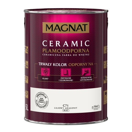Farba Magnat Ceramic liliowy aragonit 5l