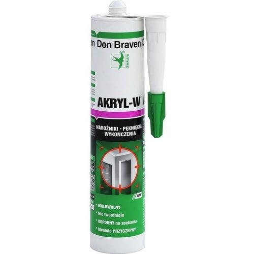 Akryl-W Den Braven brązowy 280ml
