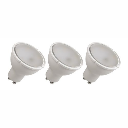 Zestaw 3 żarówek LED 4,5W GU10 350lm 120st ciepło biała
