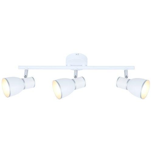 Oprawa scienno-sufitowa Fido 3x40W E14 biały+chrom