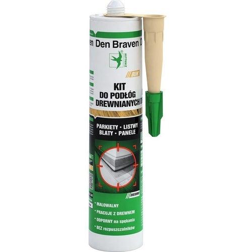 Kit do podłóg drewnianych Den Braven buk 300ml