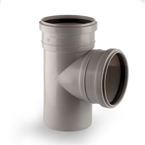Trójnik kanalizacyjny 90° 110 mm
