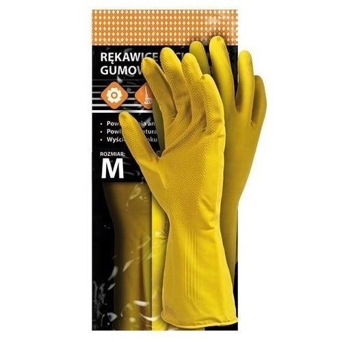 Rękawice flokowane RFROSE, rozm. 8 (M)