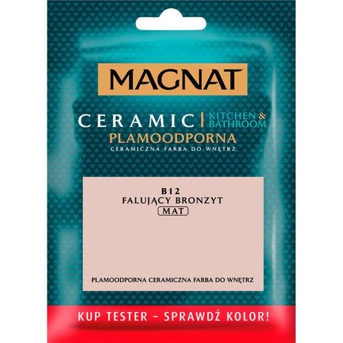 Farba Magnat Ceramic Kitchen&Bathroom tester falujący bronzyt 0,03l