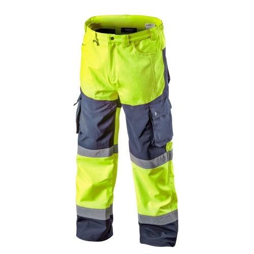 Spodnie robocze Softshell, żółte 81-750 NEO, rozm. L (52)