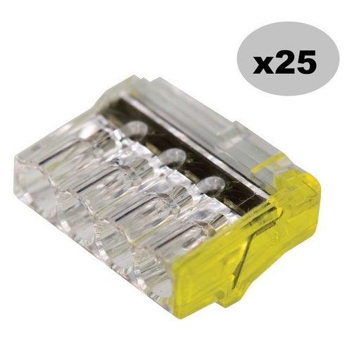 Szybkozłączka 4x2,5mm2 25 szt