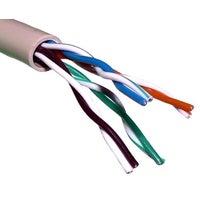 Kabel komputerowy UTP kat. 6 4x2xAWG23 drut 1m