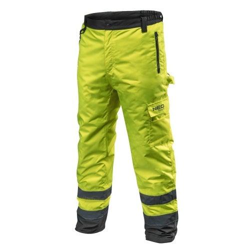 Spodnie robocze ocieplane żółte NEO 81-760, rozmiar L (52)