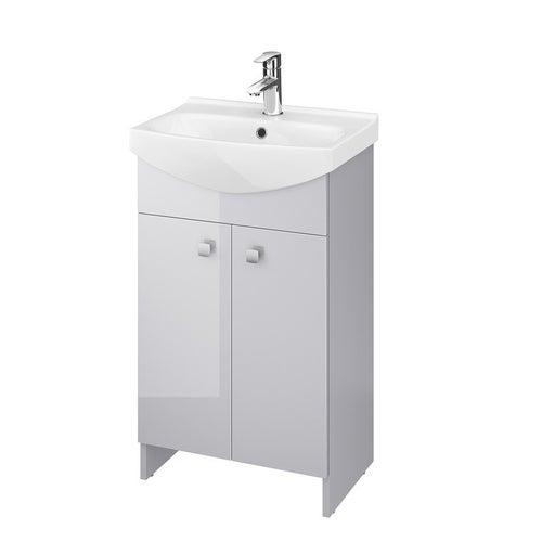 Zestaw szafka z umywalką Cersanit Rubid 50 cm S801-260-DSM