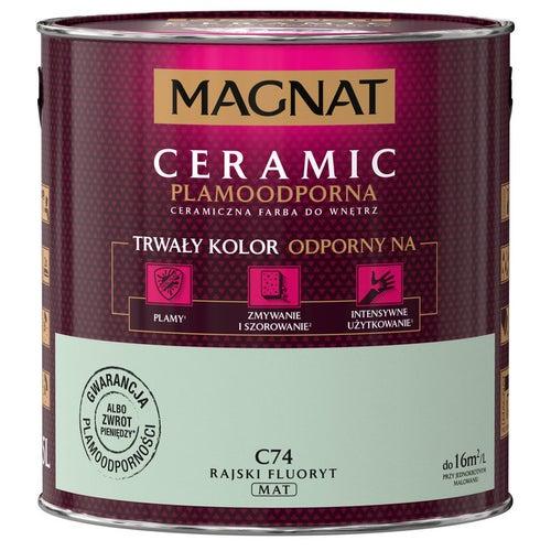 Farba Magnat Ceramic rajski fluoryt 2,5l