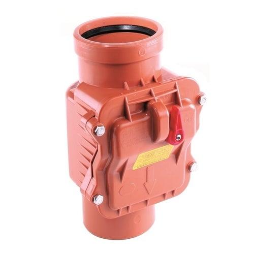 Zasuwa burzowa kanalizacji, PVC fi 160 mm