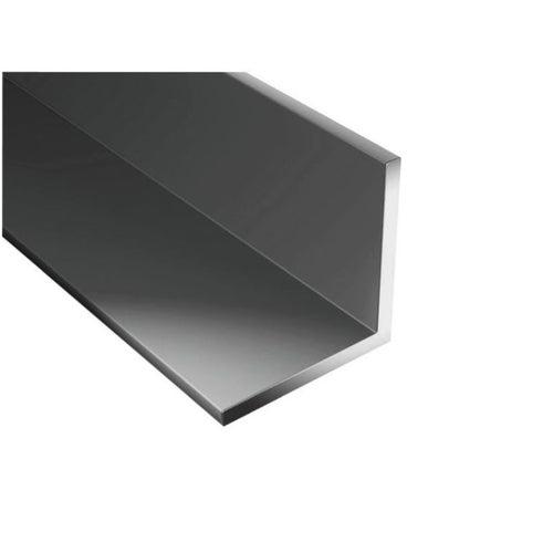 Kątownik PCV czarny 1000x25x25x1.8 mm