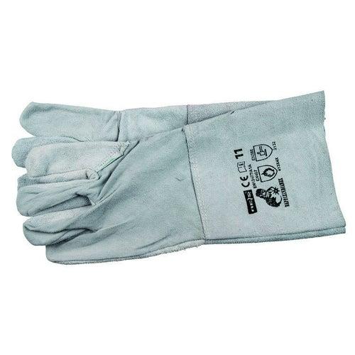 Rękawice spawalnicze ze skóry bydlęcej dwoinowej