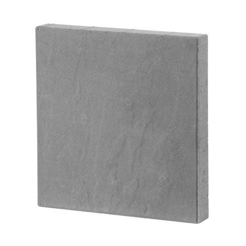 Płyta ogrodowa Bruk-Bet Przełom skalny szary gr. 5 cm gładka wym.40x40 cm