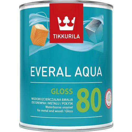 Emalia Tikkurila Everal Aqua Gloss 0,9 l