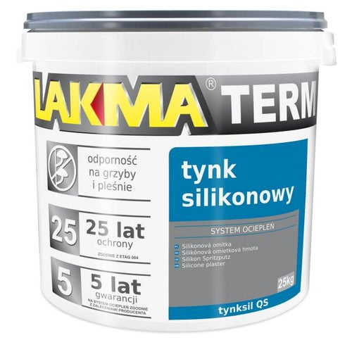 Tynk silikonowy Lakma 25 kg