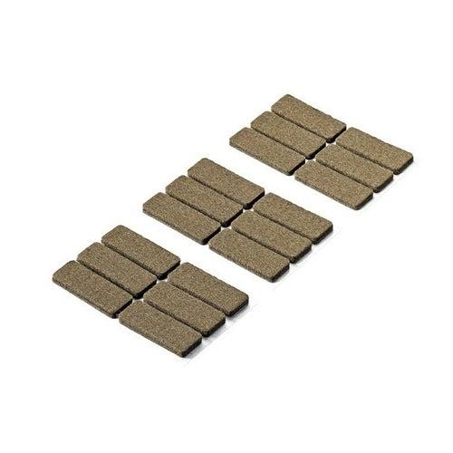 Podkładki filcowe samoprzylepne 44x16x4.5 mm 18 szt.