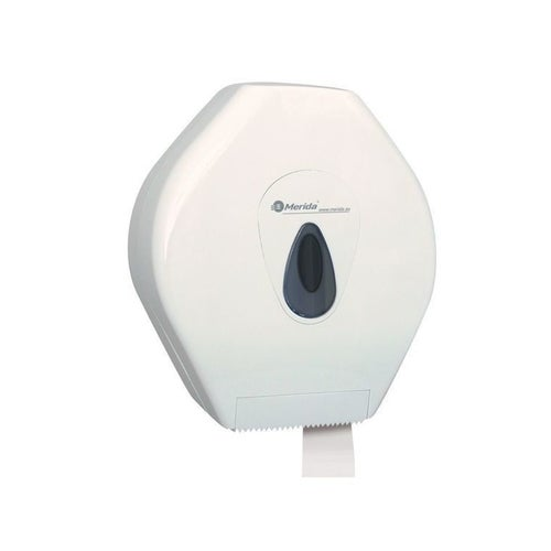 Pojemnik na papier toaletowy Merida Top Mega okienko szare, BTS001