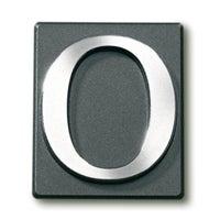 Cyfra 0 samoprzylepna patyna 4x4.7 cm
