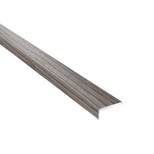 Profil podłogowy CS25 zakończeniowy 1200x25x10 aluminiowy dąb kaukaski
