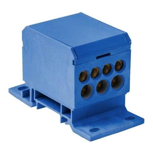 Blok rozdzielczy 2x50/4x16+3x25 niebieski E.4090/N
