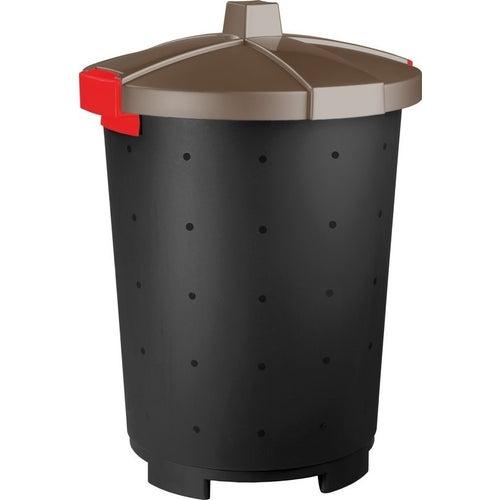 Kosz na śmieci Mattis 45 l brązowy