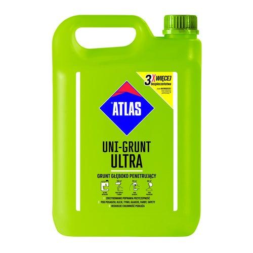 Emulsja gruntująca Atlas Uni-Grunt Ultra 5 kg, szybkoschnąca