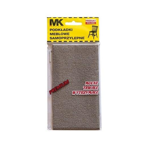 Podkładki filcowe premium 160x85 grafit