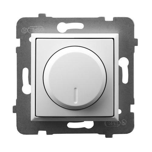 Ospel Aria biały ściemniacz LED, halogen