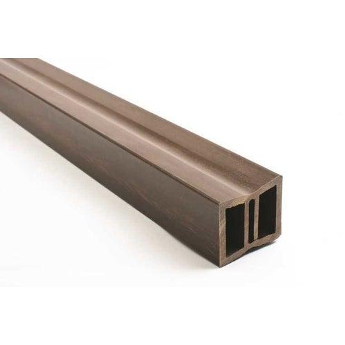 Legar kompozytowy do deski tarasowej, wym. 35x40x2400, brąz