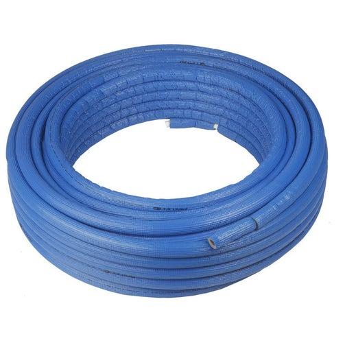 Rura Pex/Al/Pex 16x2 mm w otulinie niebieskiej 6 mm 1 mb