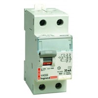 Wyłącznik różnicowoprądowy P302 2P 40A 30mA AC TX3 411510 Legrand
