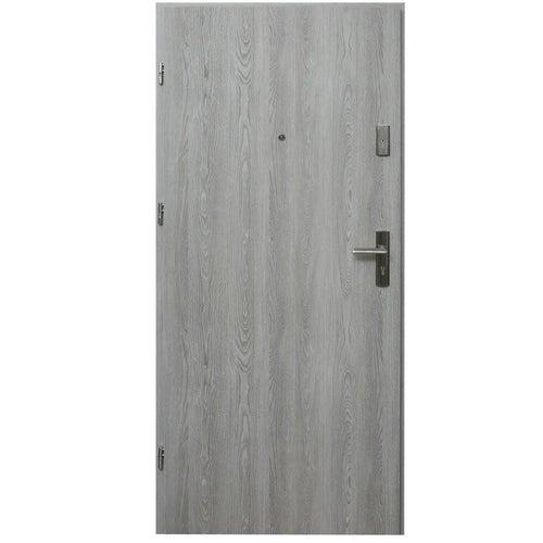 Drzwi wejściowe wewnątrzlokalowe Dioryt 80 cm lewe dąb nordycki