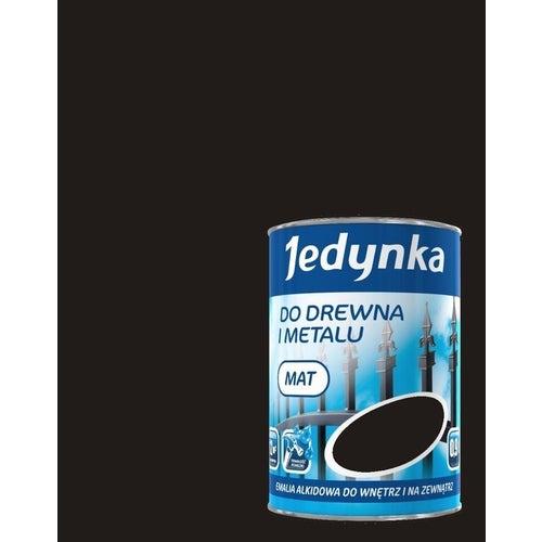 Emalia alkidowa Jedynka czarny 0,9l