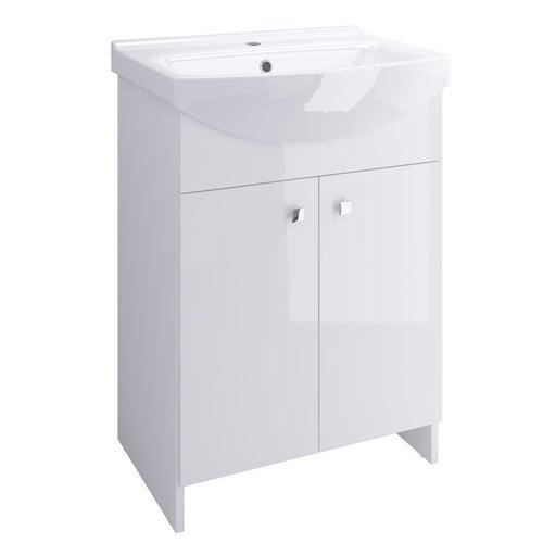 Zestaw szafka z umywalką Cersanit Rubid 60 cm S805-002