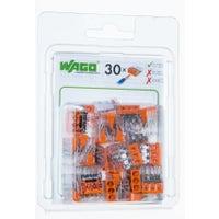 Szybkozłączka mini Wago 3x0,5-2,5mm2 30szt