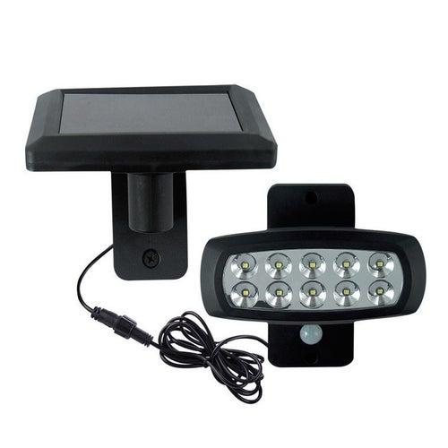 Oprawa solarna LED 2W 150lm IP44 z czujnikiem ruchu