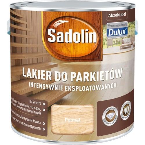 Sadolin Lakier do parkietów intensywnie eksploatowanych półmat 2,5L