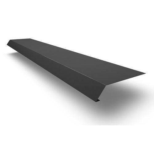Pas nadrynnowy 130x60x10 mm, dł. 2 m, grafitowy metal Scala Plastics