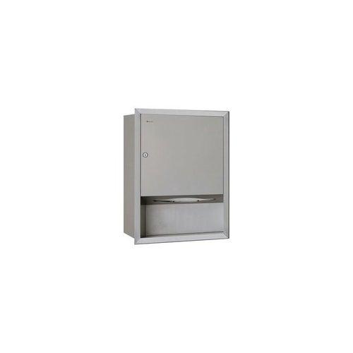 Wnękowy pojemnik na ręczniki pojedyncze Merida Stella, ASM703