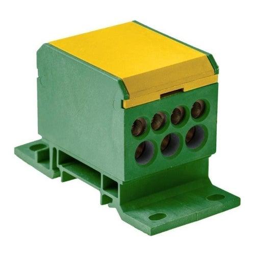 Blok rozdzielczy 2x50/4x16+3x25 zółto-zielony E.4090/Ż-Z